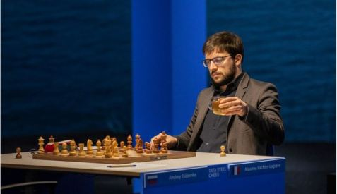 Tata Steel Chess. GM Vachier-Lagrave