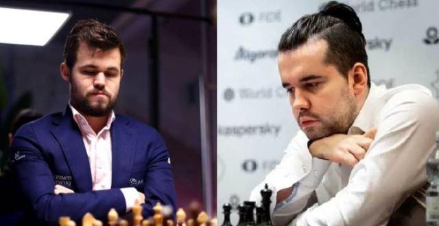 Magnus Carlsen Invitational. Magnus v Nepo