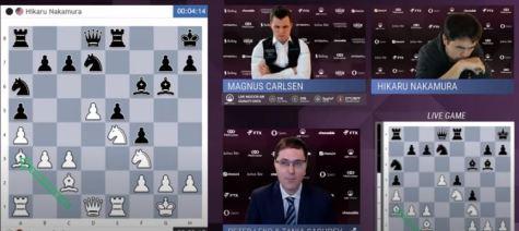 Carlsen vs Nakamura. FTX Crypto Cup