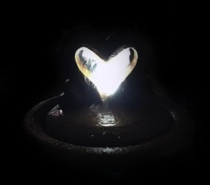 Heart of Hearts Bubbler - Night View