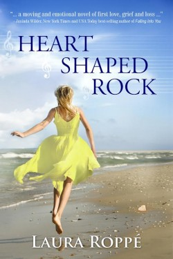Heart Shaped Rock by Laura Roppe