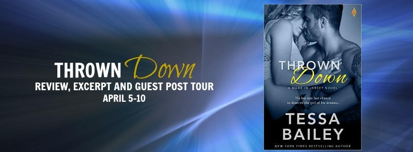 Thrown Down Blog Tour