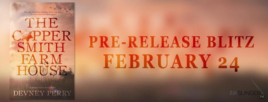 THE COPPERSMITH FARMHOUSE Pre-Release Blitz