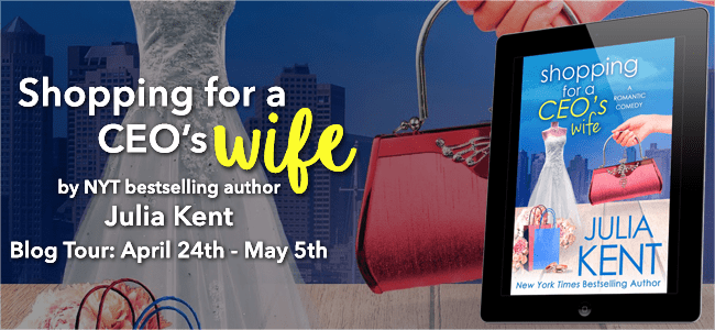 SHOPPING FOR A CEO'S WIFE Blog Tour