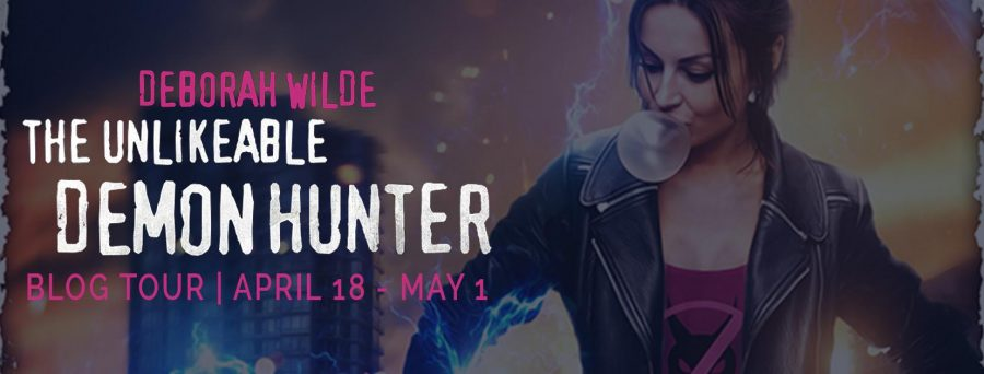 THE UNLIKEABLE DEMON HUNTER Blog Tour