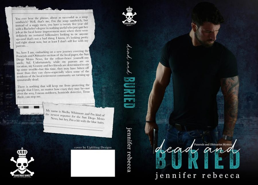 DEAD AND BURIED (Funerals and Obituaries Mysteries #1) by Jennifer Rebecca (Full Cover)
