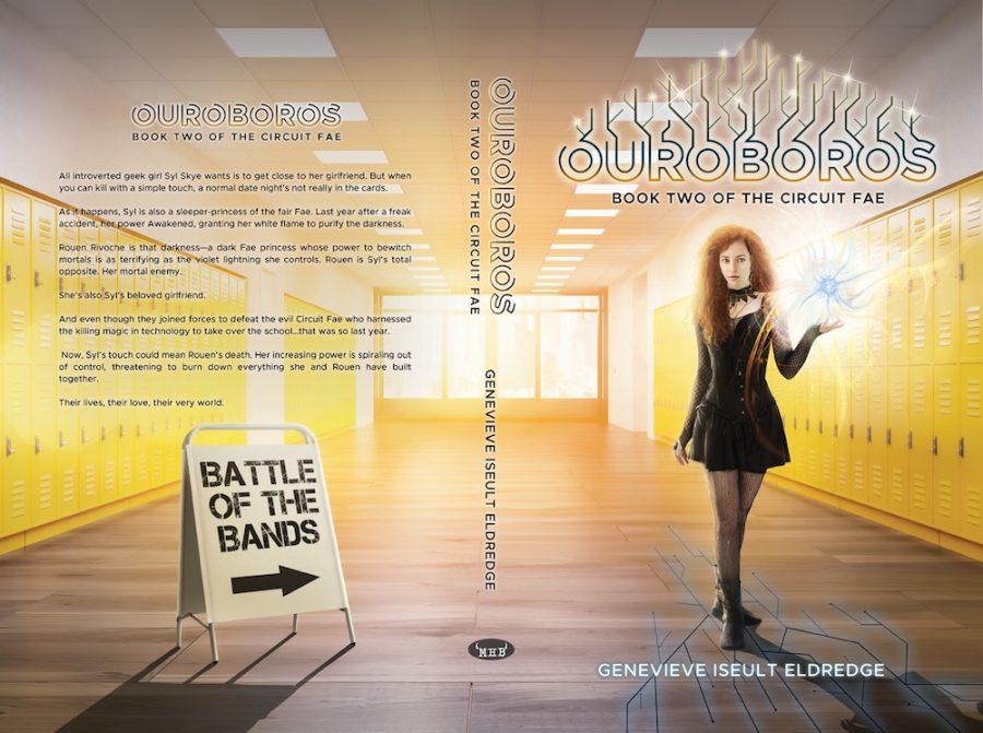 OUROBOROS (Circuit Fae #2) by Genevieve Iseult Eldredge (Full Cover)