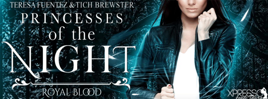 PRINCESS OF THE NIGHT Cover Reveal