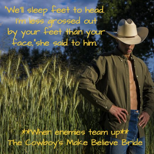 THE COWBOY'S MAKE BELIEVE BRIDE Teaser 2