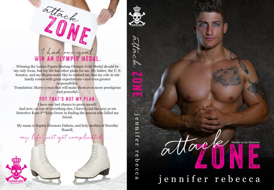 ATTACK ZONE (Murder on Ice Mysteries #1) by Jennifer Rebecca (Full Cover)