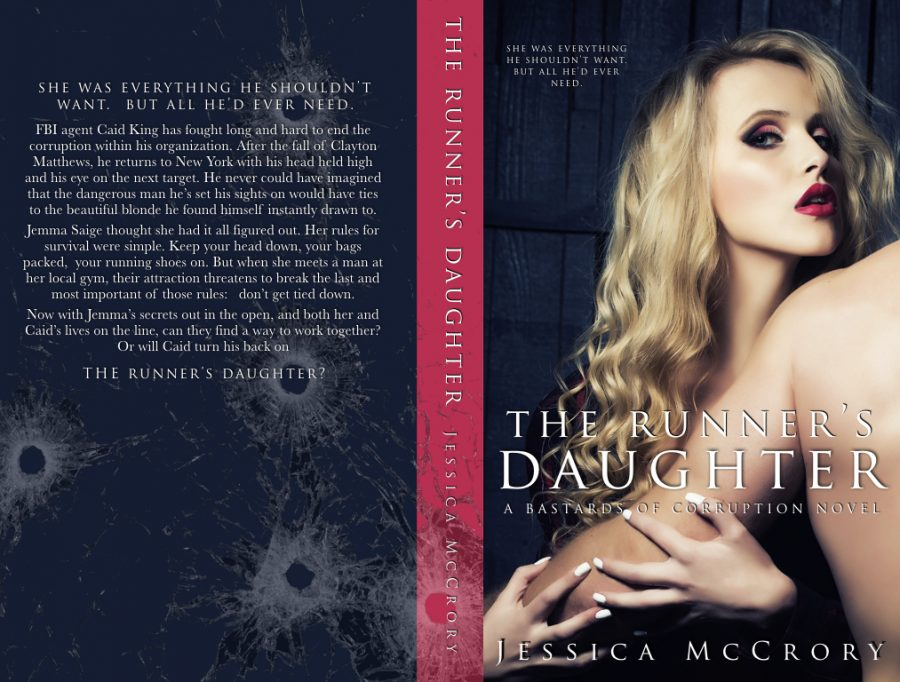 THE RUNNER'S DAUGHTER (Bastards of Corruption #2) by Jessica McCrory (Full Cover)