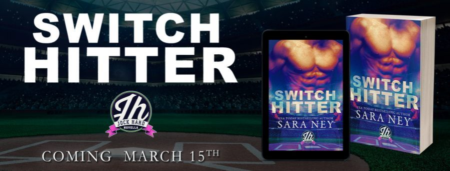SWITCH HITTER Cover Reveal