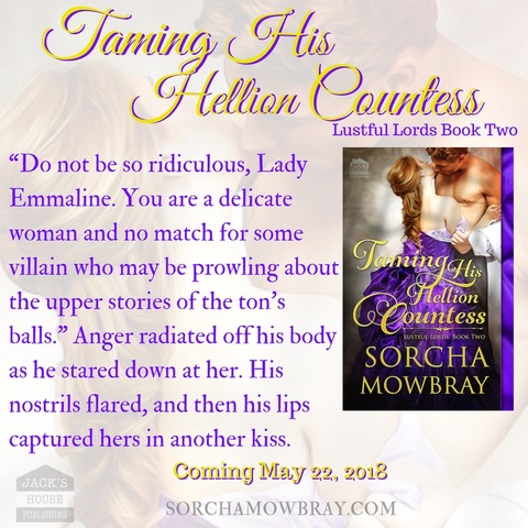 TAMING HIS HELLION COUNTESS Teaser 2