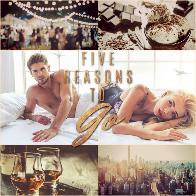 FIVE REASONS TO GO Teaser 1