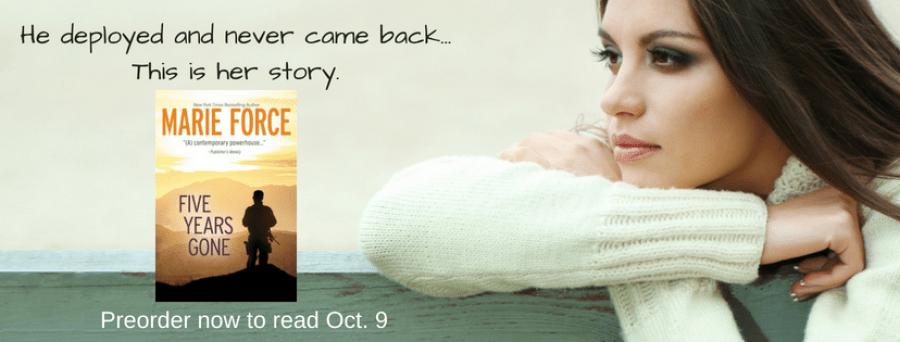 FIVE YEARS GONE Excerpt Reveal