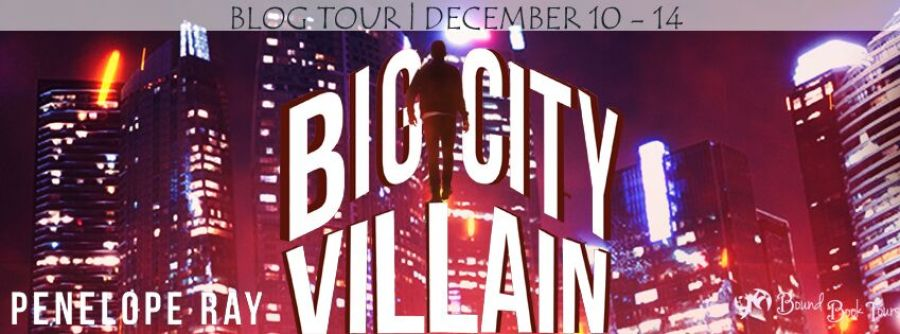 BIG CITY VILLAIN Blog Tour
