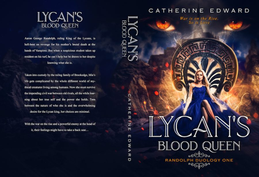 LYCAN'S BLOOD QUEEN (Randolph Duology #1) by Catherine Edward (Full Cover)