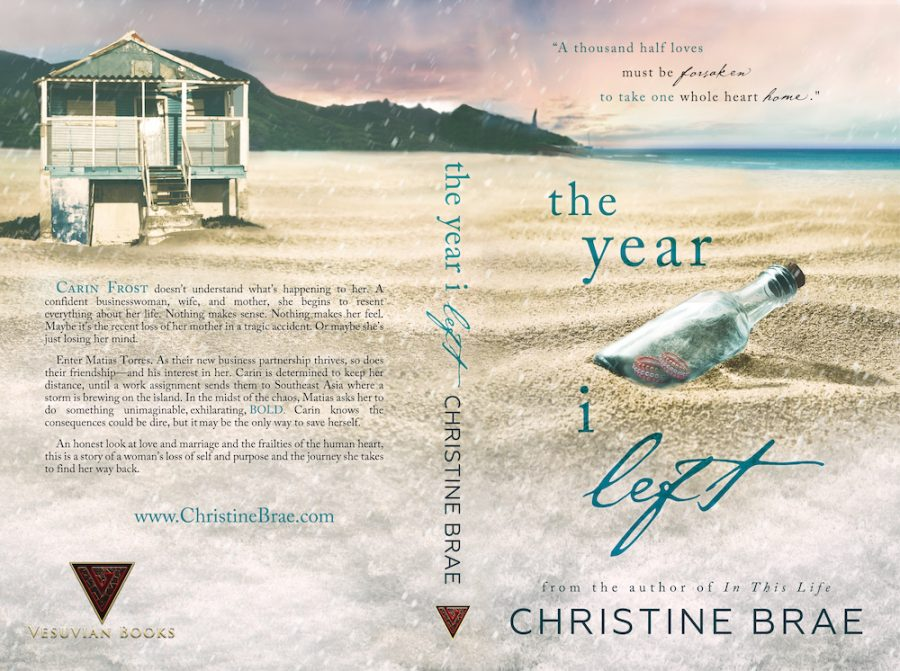 THE YEAR I LEFT by Christine Brae (Full Cover)