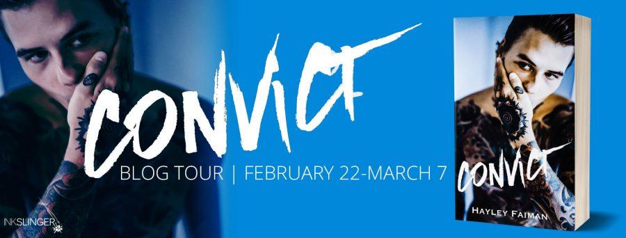 CONVICT Blog Tour