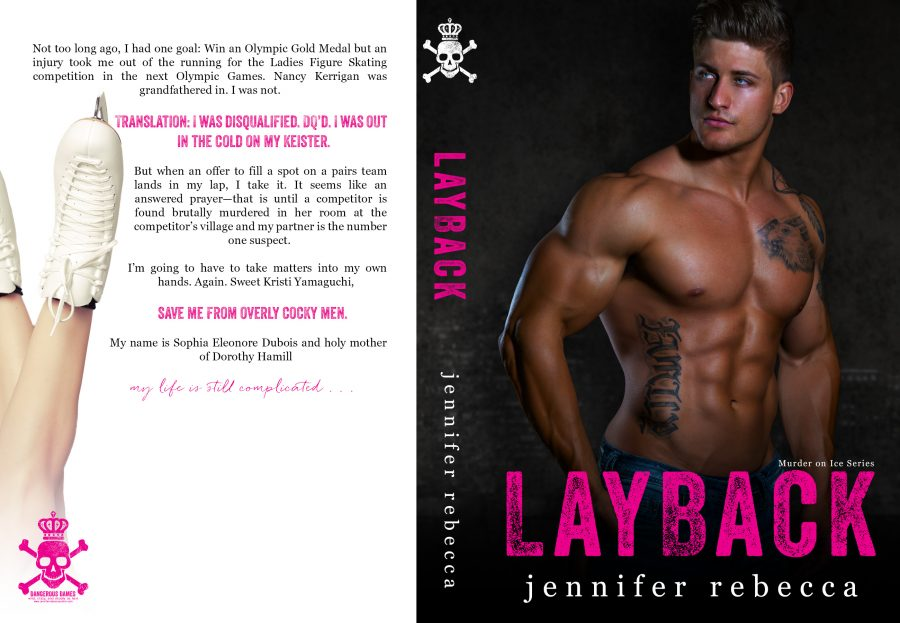 LAYBACK (Murder on Ice Mysteries #2) by Jennifer Rebecca (Full Cover)