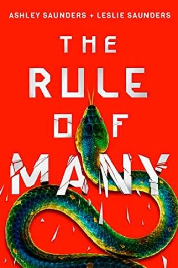 THE RULE OF MANY (The Rule of One #2) by Ashley Saunders