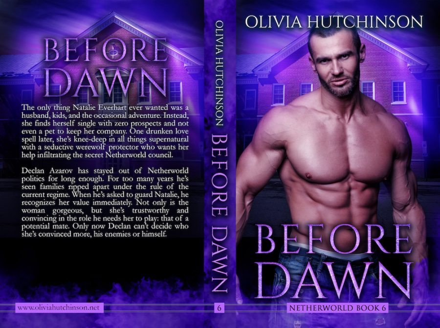 BEFORE DAWN (Netherworld #6) by Olivia Hutchinson (Full Cover)