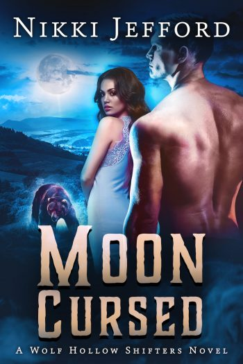 MOON CURSED (Wolf Hollow Shifters #4) by Nikki Jefford