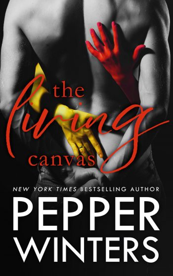 THE LIVING CANVAS (Master of Trickery Duet #2) by Pepper Winters