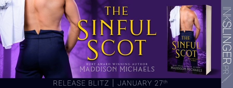 THE SINFUL SCOT Release Day