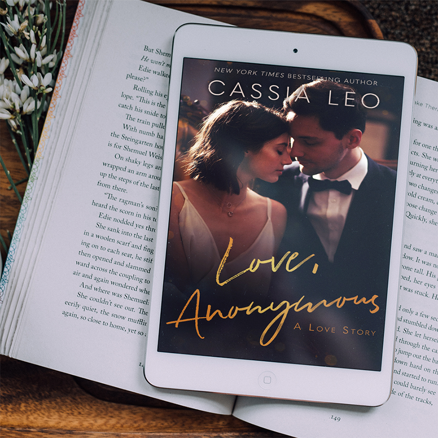 Teaser for LOVE, ANONYMOUS, a stand-alone adult contemporary romance by New York Times bestselling author Cassia Leo, releasing April 21, 2020