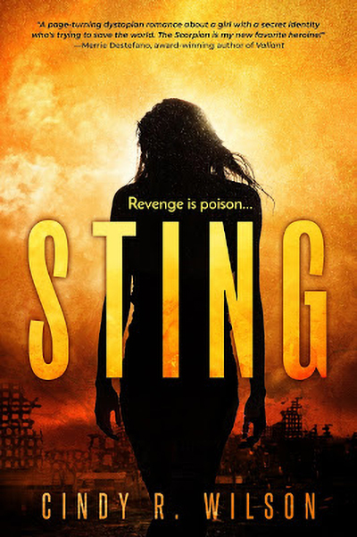Cover for STING, a young adult dystopian adventure, by Cindy R. Wilson