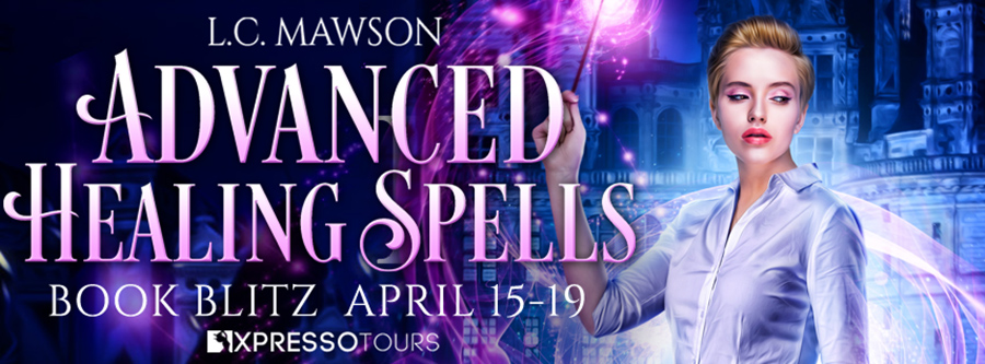 Welcome to the book blitz for ADVANCED HEALING SPELLS, the third book in the young adult urban fantasy series, Ember Academy for Young Witches, by L.C. Mawson