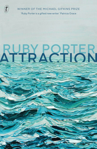 Cover for ATTRACTION, a stand-alone women's fiction/suspense/adult psychological thriller by award-winning debut author, Ruby Porter
