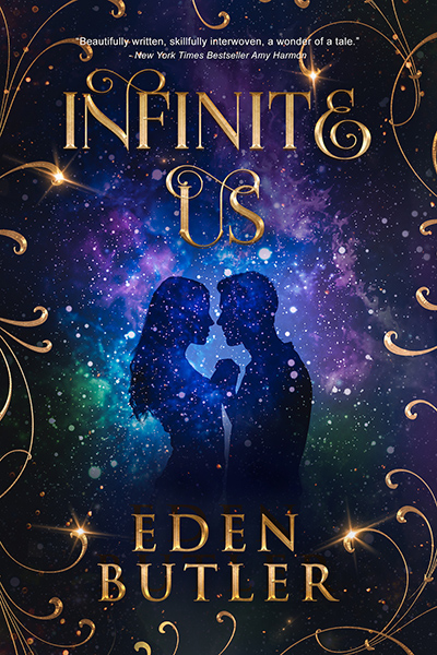 Cover for INFINITE US, a stand-alone adult contemporary romance by Eden Butler