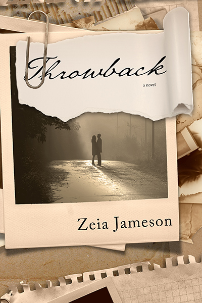 Cover for THROWBACK, a stand-alone adult contemporary romance by Zeia Jameson