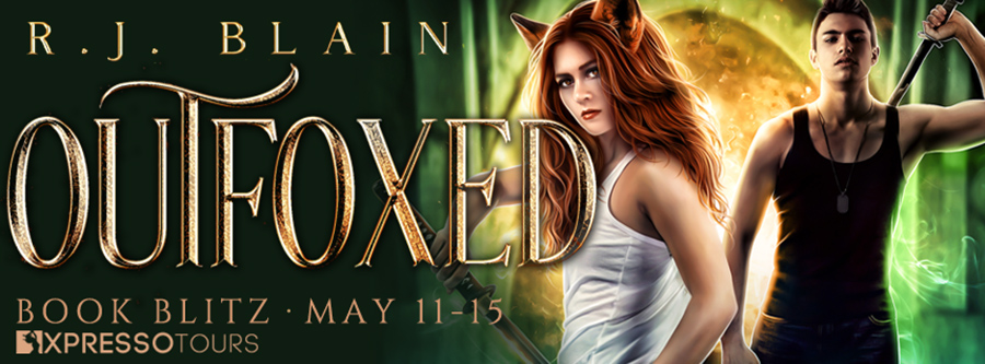 Welcome to the book blitz for OUTFOXED, the first book in the adult paranormal romance/urban fantasy series, The Fox Witch, by USA Today bestselling author, R.J. Blain, releasing November 3, 2020