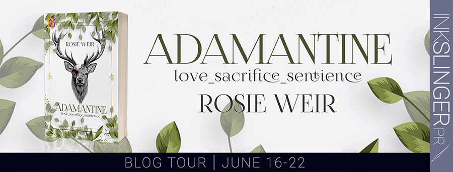 Welcome to the blog tour for ADAMANTINE, an adult scifi romance, by Rosie Weir
