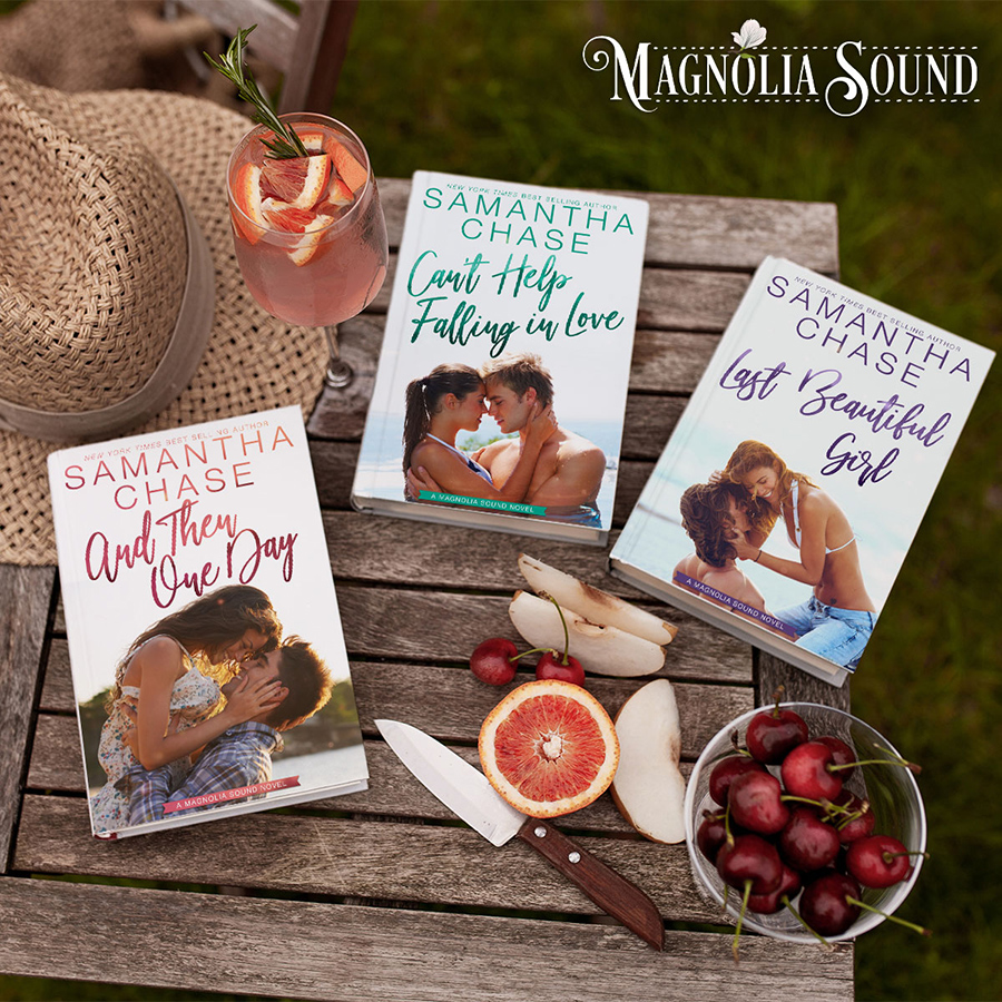 Covers of the Magnolia Sound Series by New York Times and USA Today bestselling author, Samantha Chase
