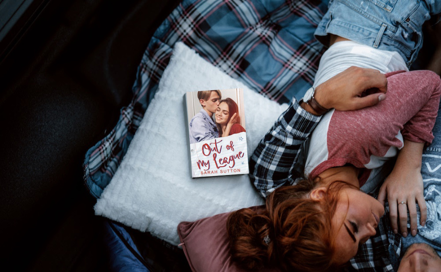 Teaser for OUT OF MY LEAGUE, a stand-alone young adult contemporary romance, by Sarah Sutton