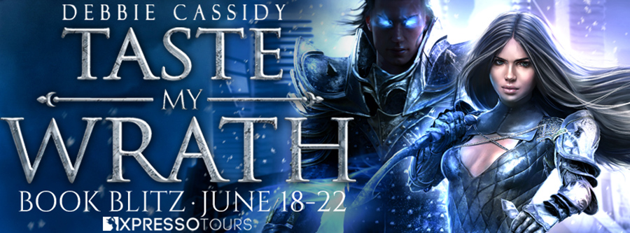 Welcome to the book blitz for TASTE MY WRATH, the first book in the adult urban fantasy romance series, The Iron Fae, by USA Today bestselling author, Debbie Cassidy