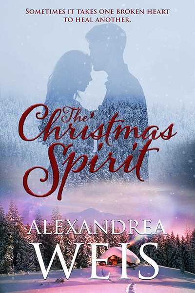 Cover for THE CHRISTMAS SPIRIT, a stand-alone adult contemporary holiday romance by Alexandrea Weis, releasing October 27, 2020