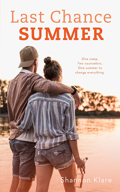 LAST CHANCE SUMMER, a standalone young adult contemporary romance by Shannon Klare