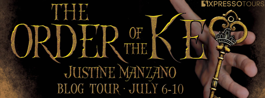 Welcome to the book blitz for ORDER OF THE KEY, a standalone young adult urban fantasy, by Justine Manzano