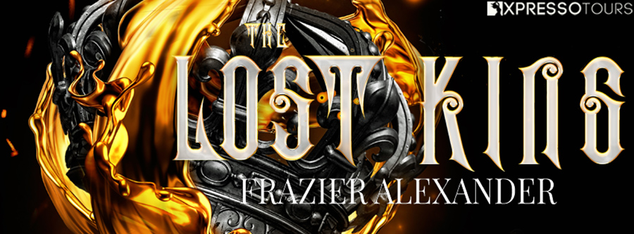 Fyreside Publishing and author Frazier Alexander are revealing the cover to THE LOST KING, a stand-alone adult fantasy, releasing November 10, 2020
