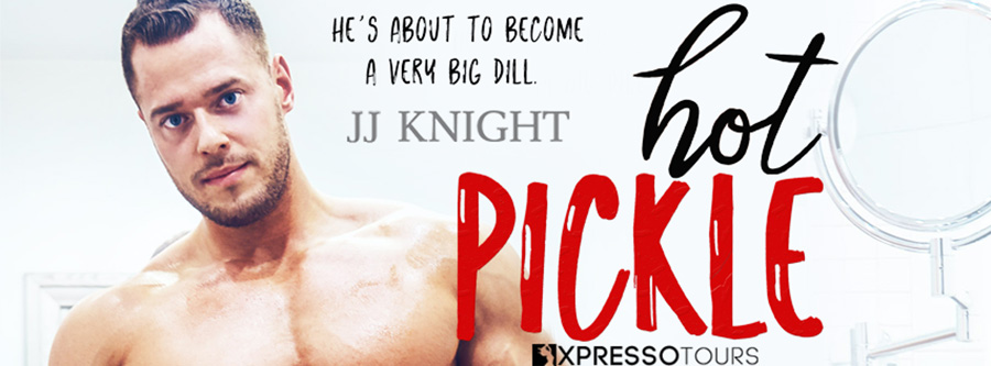 USA Today bestselling author, J.J. Knightis revealing the cover to HOT PICKLE, the second stand-alone book in her adult contemporary sports romantic comedy series, Pickle Brothers, releasing August 31, 2020