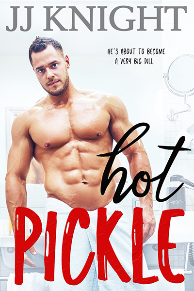 HOT PICKLE, the second stand-alone book in the adult contemporary sports romantic comedy series, Pickle Brothers, by USA Today bestselling author J.J. Knight