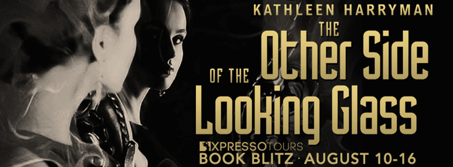 Welcome to the book blitz for THE OTHER SIDE OF THE LOOKING GLASS, a stand-alone adult romantic suspense, by Kathleen Harryman