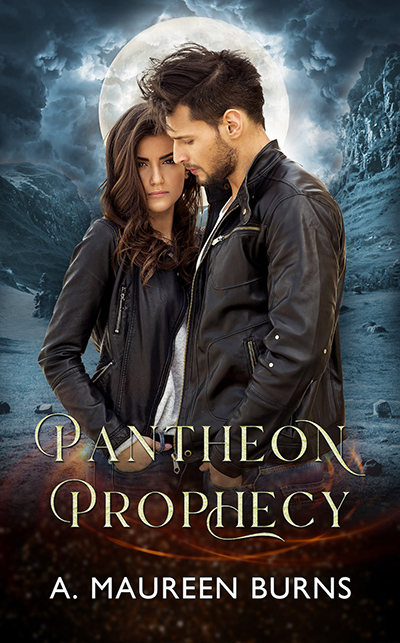 THE PANTHEON PROPHECY, the first book in the adult fantasy series, Paladin, by A. Maureen Burns