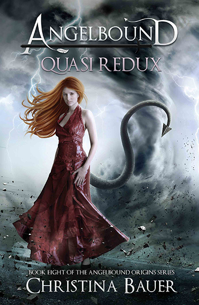 QUASI REDUX, the eighth book in the young adult fantasy/paranormal romance series, Angelbound Origins, by Christina Bauer
