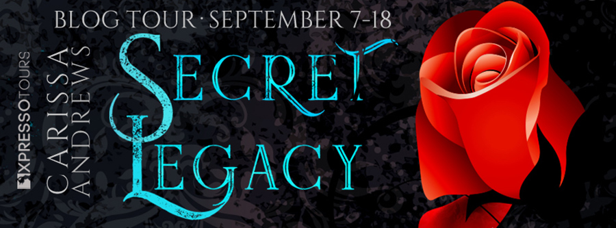 Welcome to the blog tour for SECRET LEGACY, the first book in the adult paranormal romance series, The Windhaven Witches, by international bestselling author, Carissa Andrews, releasing September 15, 2020